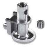 HEIGHT ADJUSTER M10 WITH CONNECTOR, RANGE 30 - 50 MM